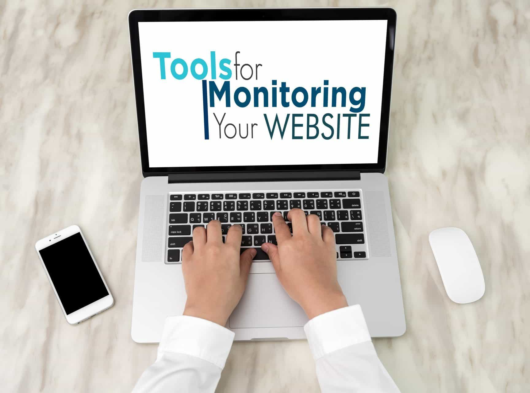 tools for monitoring your website