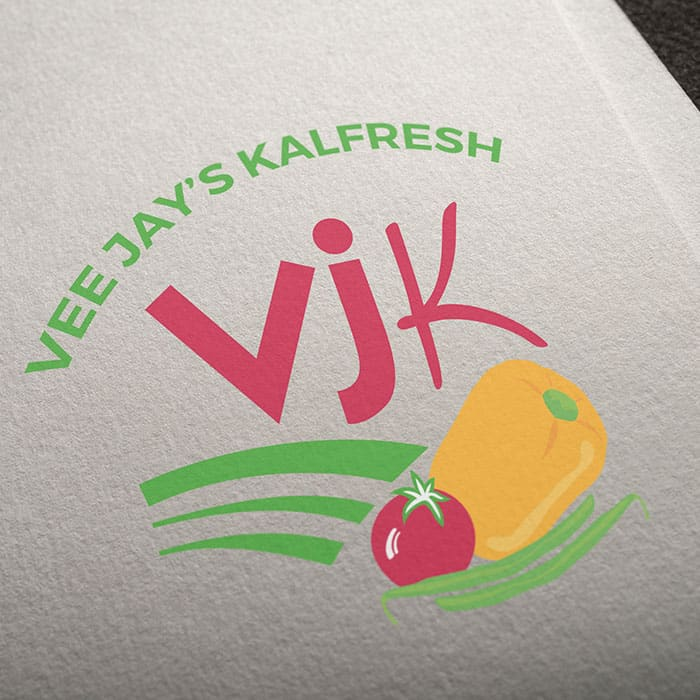 logo design Kalbar VJK produce