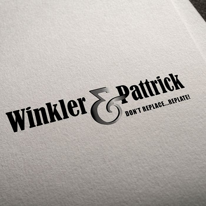 logo design jimboomba winkler and pattrick