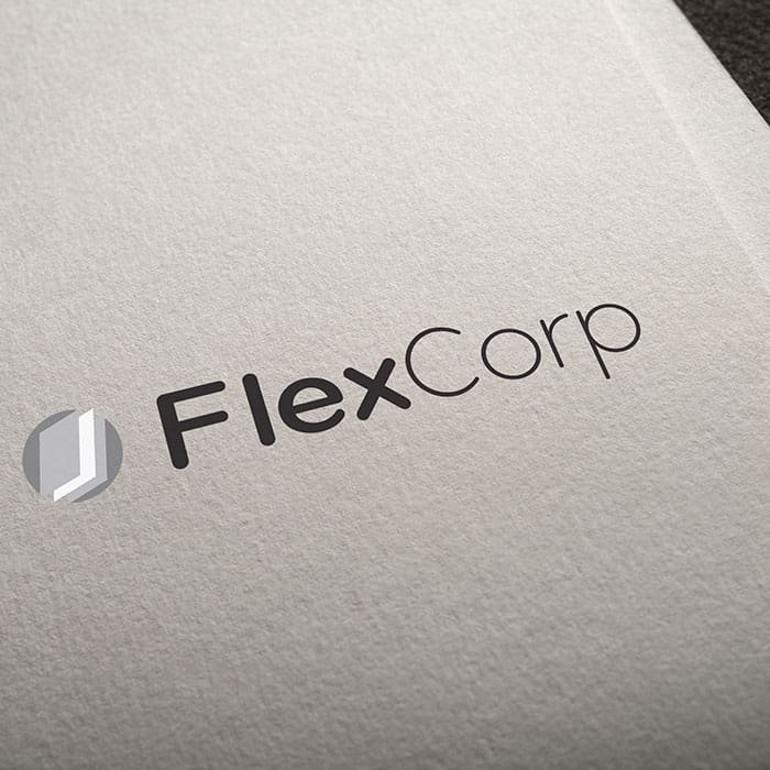 logo design kingston flexcorp