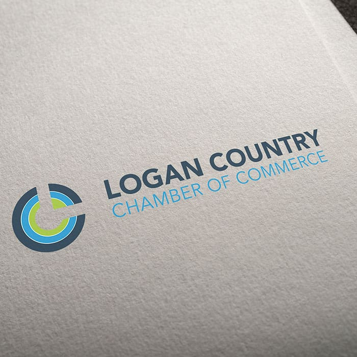 logo design logan country chamber