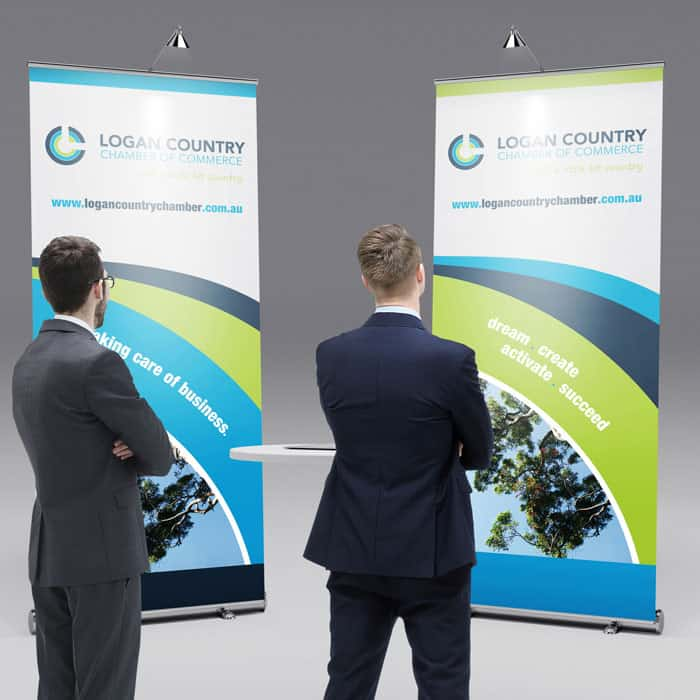 Logan Country Chamber pullup Banner Artwork