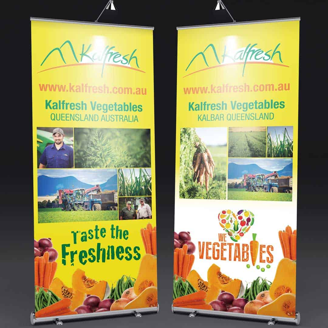kalfresh vegetables banner