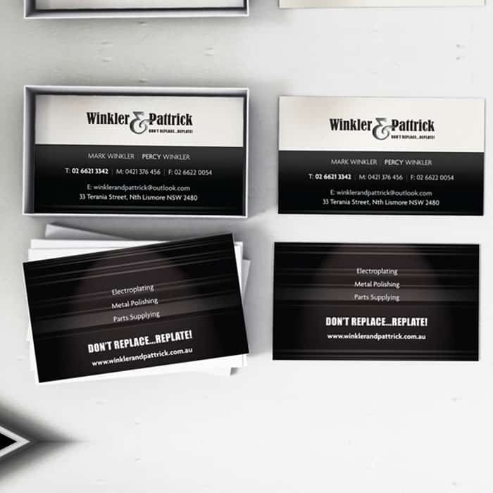 business card design lismore