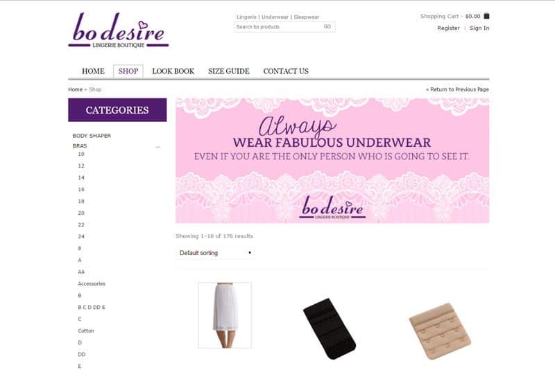 bo desire lingerie boutique