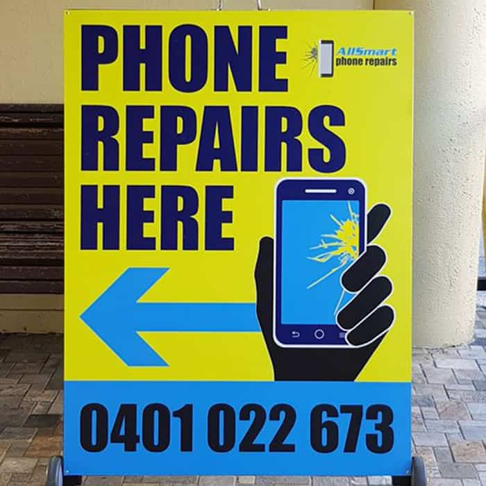 all smart phone repairs sign