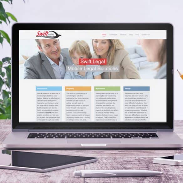 mobile legal firm website development